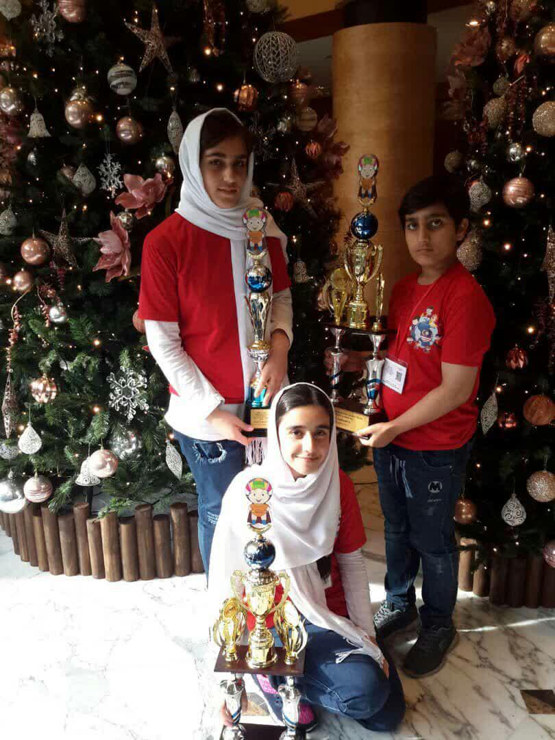 قهرمانی دانشآموزان ایرانی در مسابقات جهانی محاسبات ذهنی مالزی