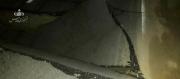 تصادف زنجیرهای در پی ریزش پل در محور رامهرمز به بهبهان
