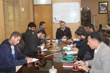 نشست خبرنگاران و فعالان رسانهای رامهرمز با فرماندار