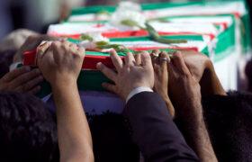 پیکر مطهر معلم شهید در رامهرمز تشییع و خاکسپاری شد