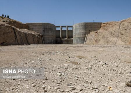 """سد """"جره"""" رامهرمز، یک مخزن خالی در تنش آبی خوزستان"""