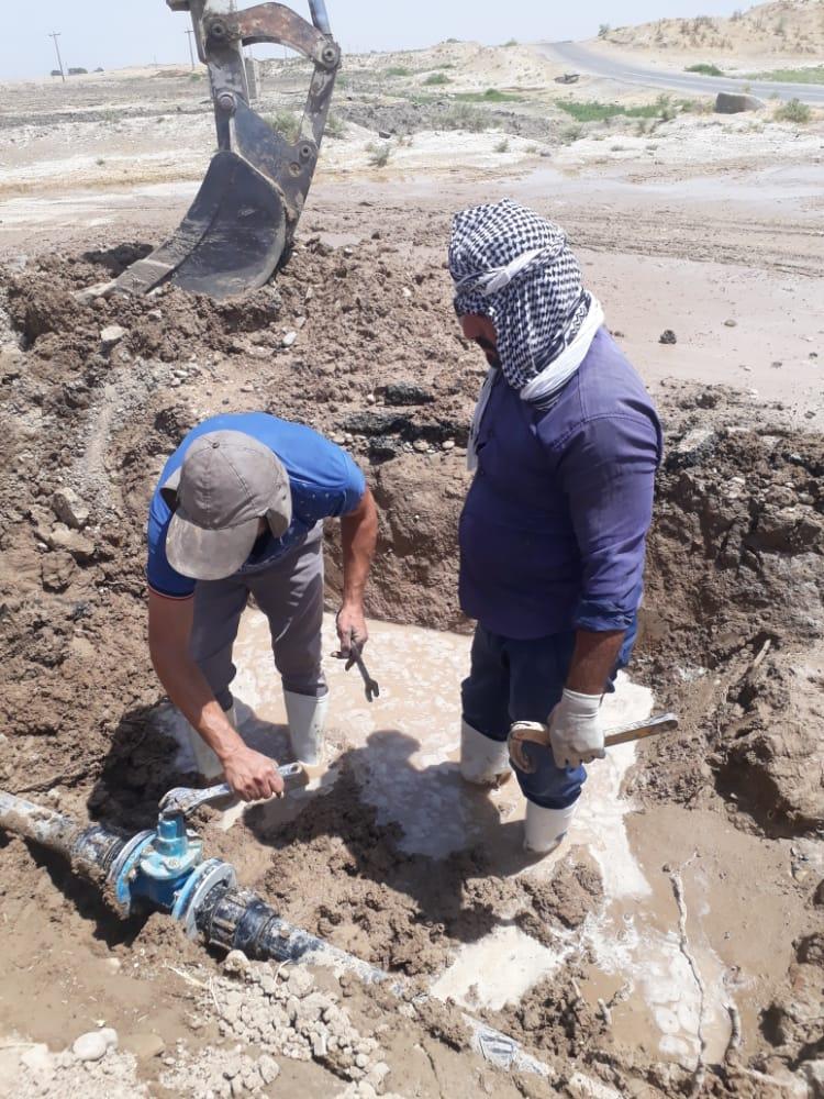 اداره آبفا، آب روستاهای دیمه - محمود احمدی رئیس آبفا رامهرمز